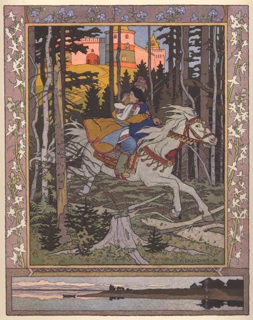 Prince Ivan by Ivan Bilibin