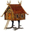 Baba Yaga's Hut by Kinuko Y. Craft