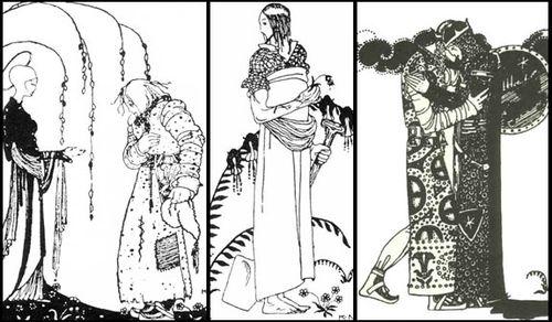 Drawings by Kay Nielsen