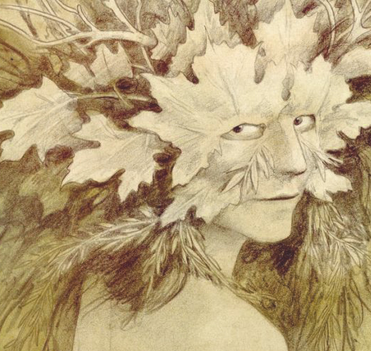 Green Woman by Brian Froud