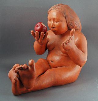 Apple by Roxanne Swentzell