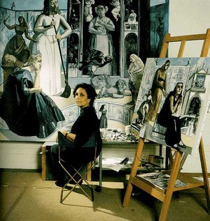 Paula_rego_in_her_studio
