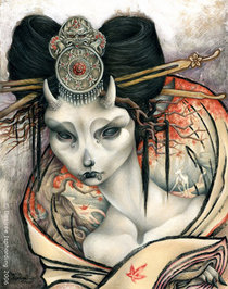 The_white_doe_of_nara_by_sphinxmuse_1